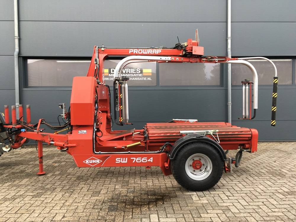 Kuhn PRO-WRAP SW 7664, Bale Wrappers, Agriculture