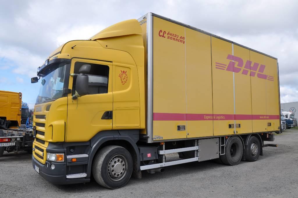 Scania R480 6x2, Skåpbilar, Transportfordon