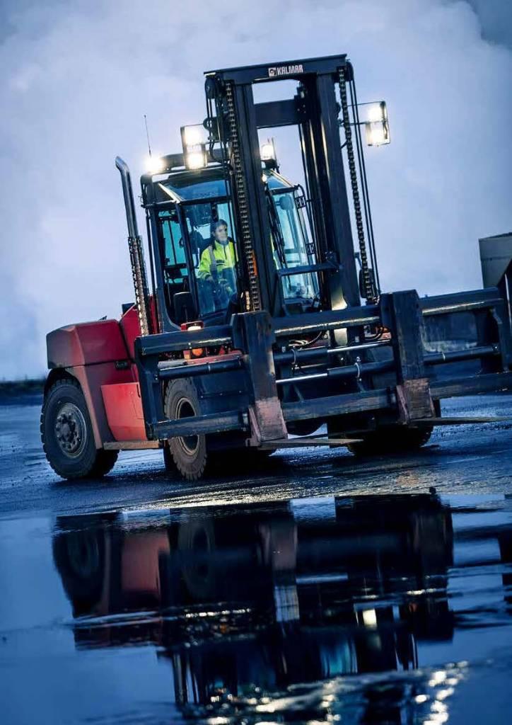 Kalmar DCG120-12, Diesel trucks, Material Handling