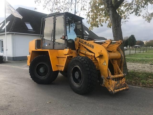 Ahlmann Zwenklader AZ 14, Wielladers, Bouw