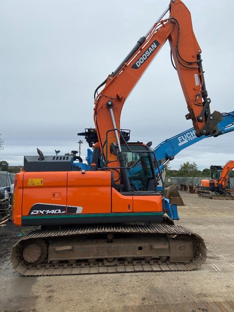 Doosan DX140LC-5, Crawler Excavators, Construction Equipment