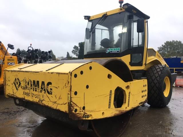 Bomag BW219 D H-5, Single drum rollers, Construction