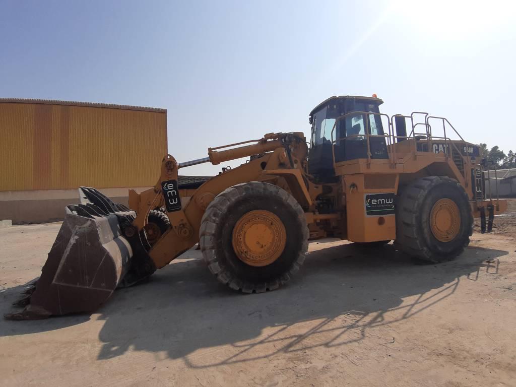 Caterpillar 988 H ( 2 pieces), Wheel loaders, Construction