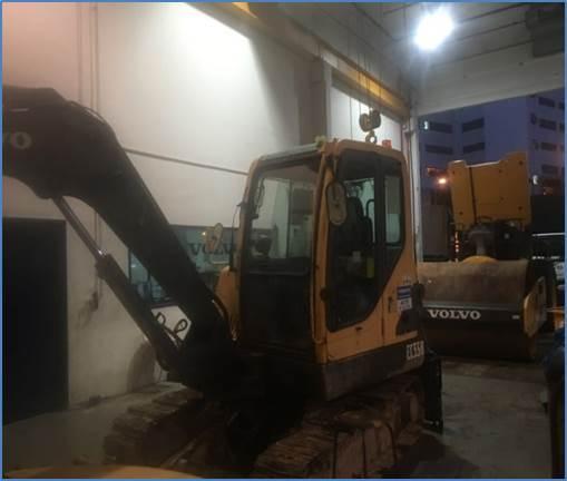 Volvo EC55B Pro, Mini excavators < 7t (Mini diggers), Construction