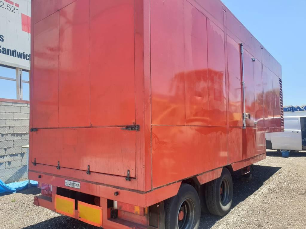 Deutz 1000 KVA, Generadores diesel, Construcción