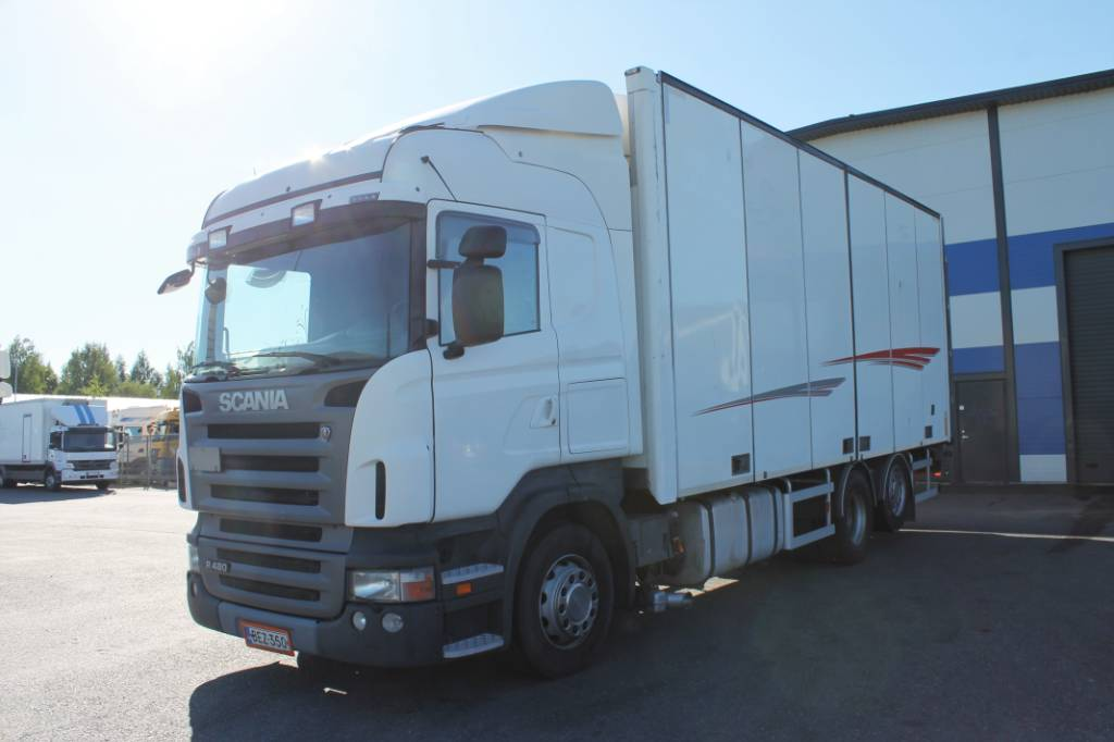 Scania R480 6x2 49, Umpikorikuorma-autot, Kuljetuskalusto