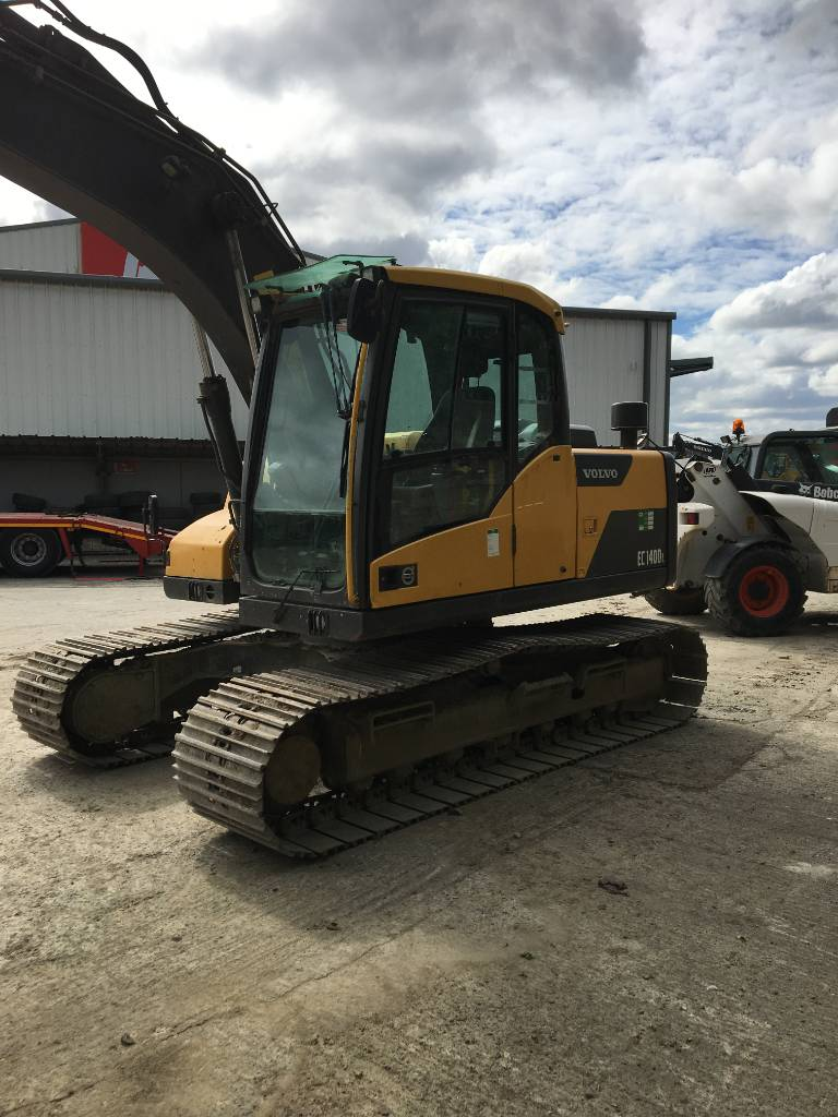 Volvo EC 140D, Crawler Excavators, Construction Equipment