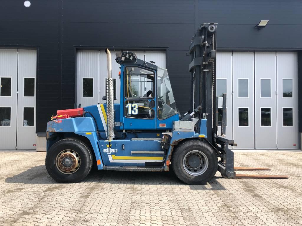 Kalmar DCE 120-6, Dieselmotviktstruckar, Materialhantering