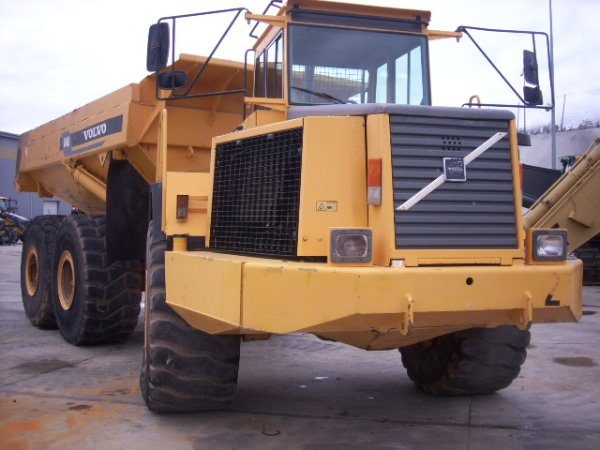 Volvo A 40, Articulated Dump Trucks (ADTs), Construction Equipment