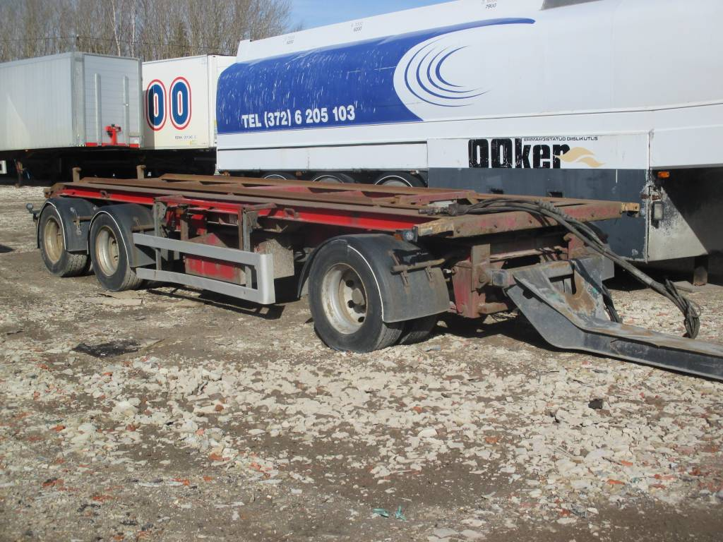 Istrail Container carrier, Container Trailers, Trucks and Trailers