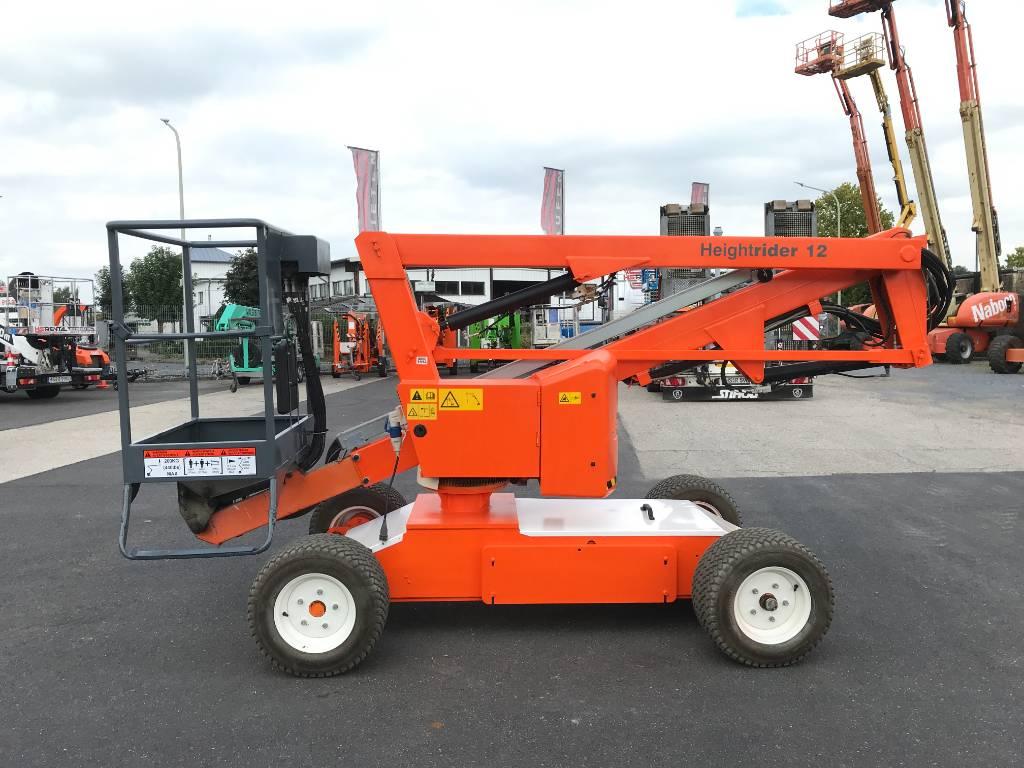 Niftylift HR12 NE elektro 12m (1412), Gelenkarbeitsbühne, Baumaschinen