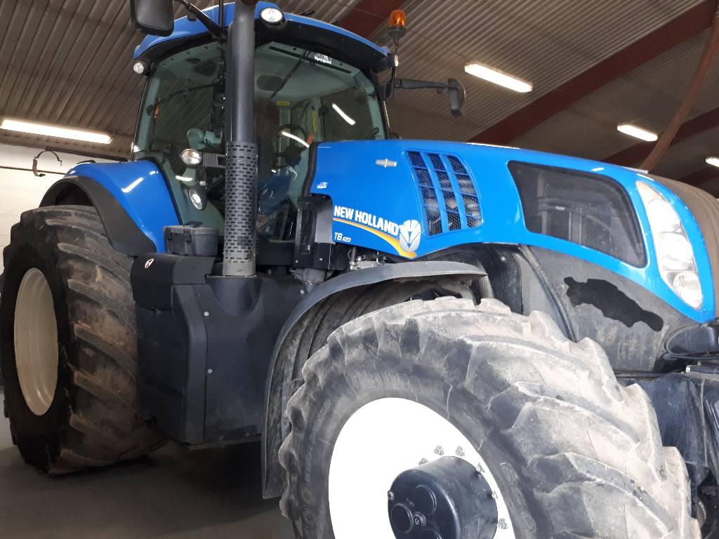 New Holland T 8.420 AC, Traktorer, Landbrug