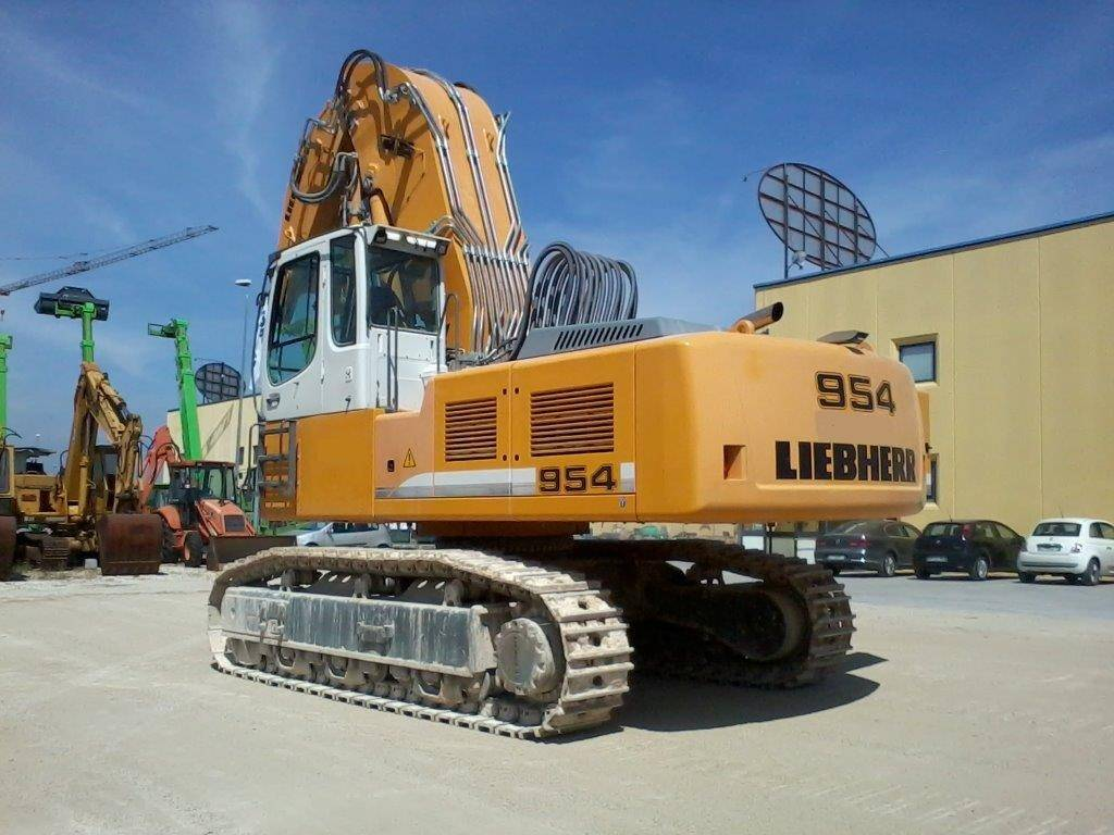 Liebherr R 954 C, Crawler Excavators, Construction Equipment