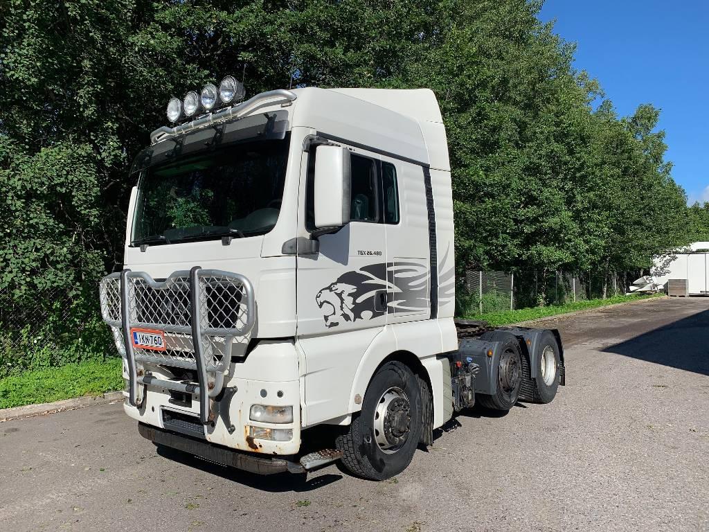 MAN TGX 26.480 6X4H/4 BLS, Vetopöytäautot, Kuljetuskalusto