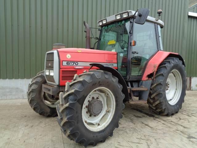Massey Ferguson 6170 dynashift tractor