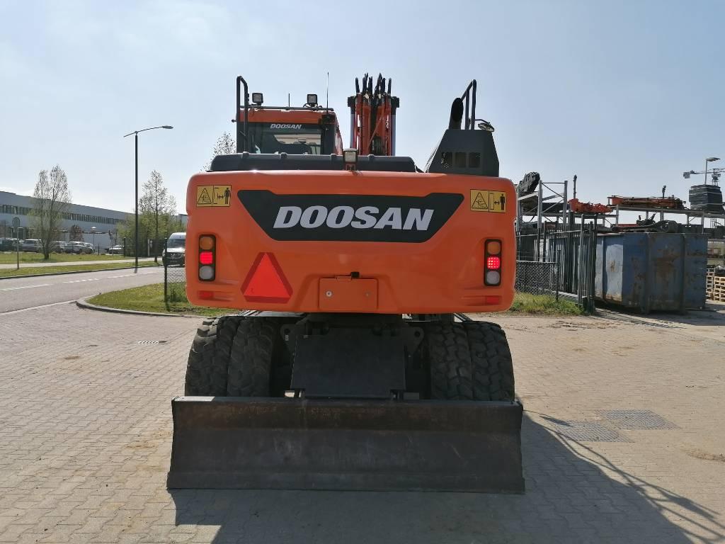 Doosan DX140W-5 Mobiele graafmachine, Wheeled Excavators, Construction Equipment