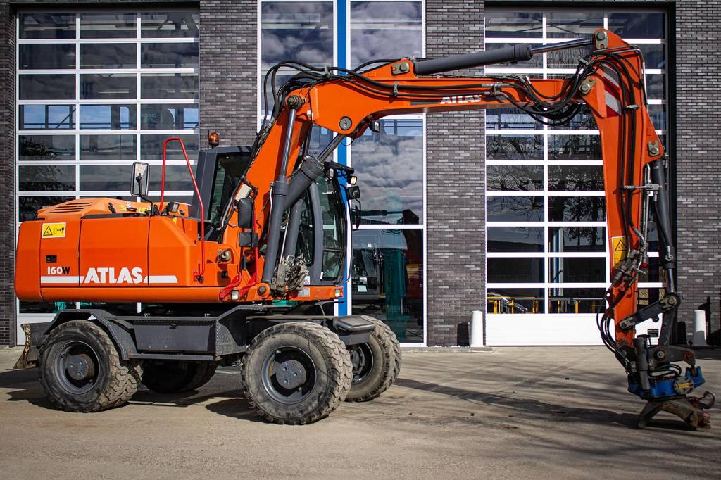 Atlas 160 W, Wheeled Excavators, Construction