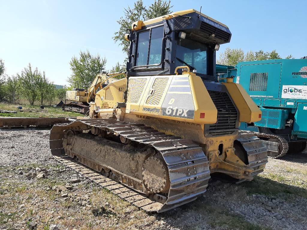 Komatsu D61PX-23, Crawler dozers, Construction Equipment