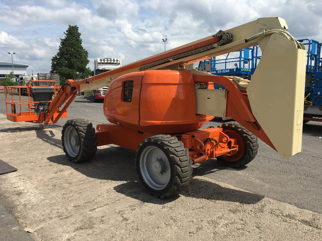 JLG 600AJ 4x4, Articulated boom lifts, Construction