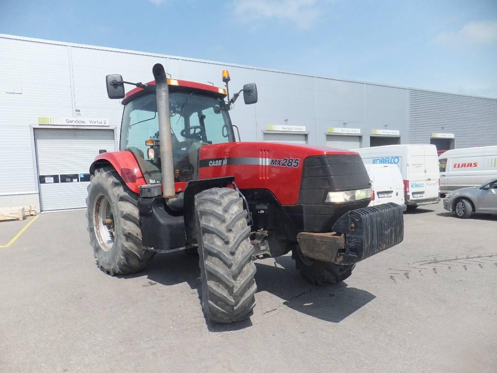 Case IH MX 285, Traktorid, Põllumajandus