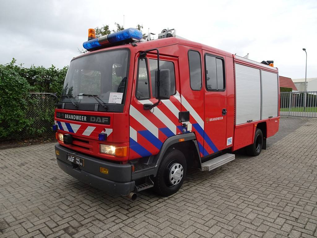 DAF 45-180  Rosenbauer, Fire trucks, Transportation