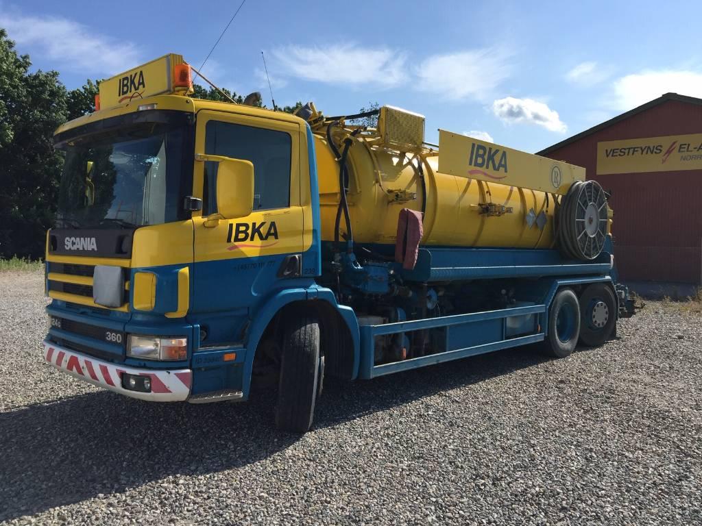 Scania 124 G 360, Slamsuger, Transport