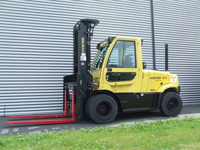 Hyster H8.0FT6, Diesel counterbalance Forklifts, Material Handling