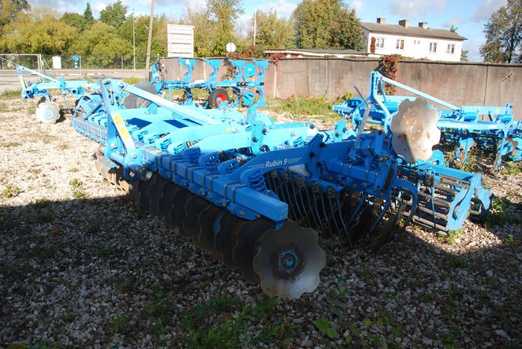 Lemken Rubin 9/400 U, Power harrows and rototillers, Agriculture