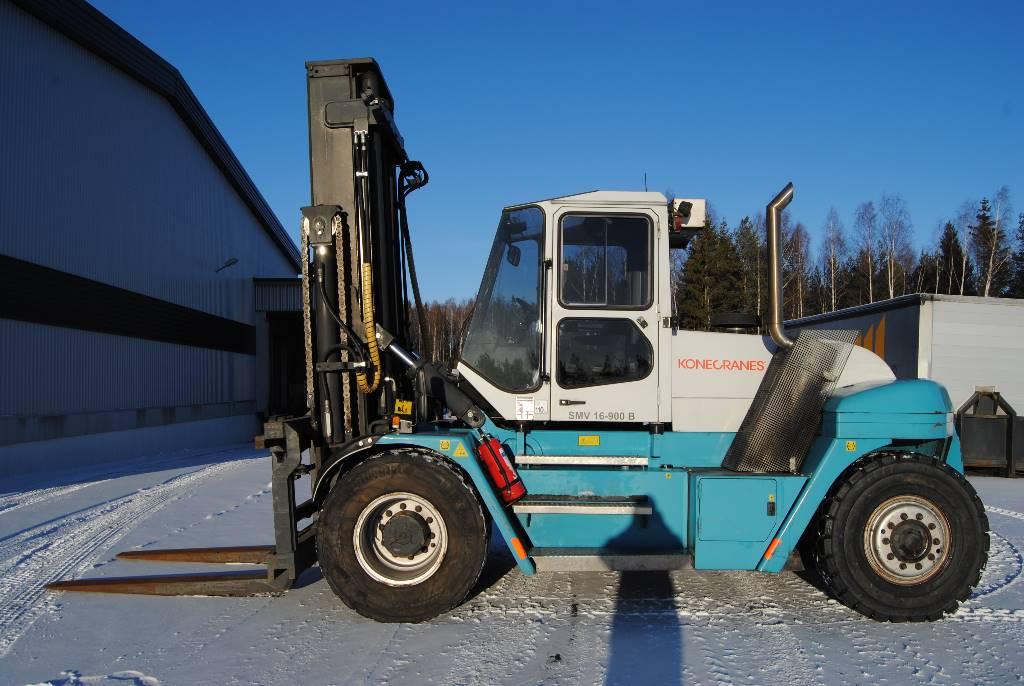 SMV 16-900 B, Dieselmotviktstruckar, Materialhantering