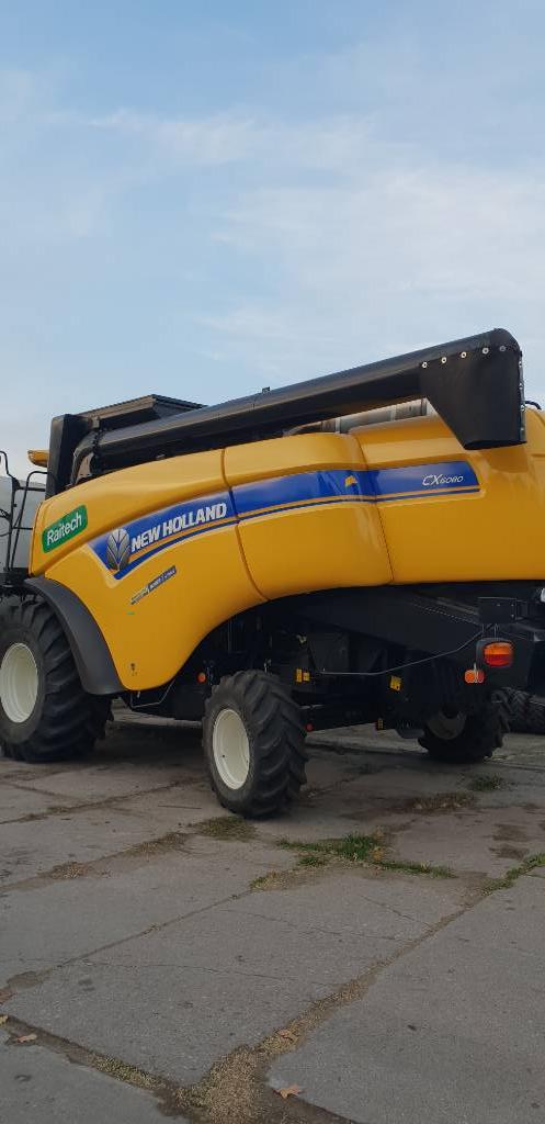 New Holland CX 6080, Kombajny zbożowe, Maszyny rolnicze