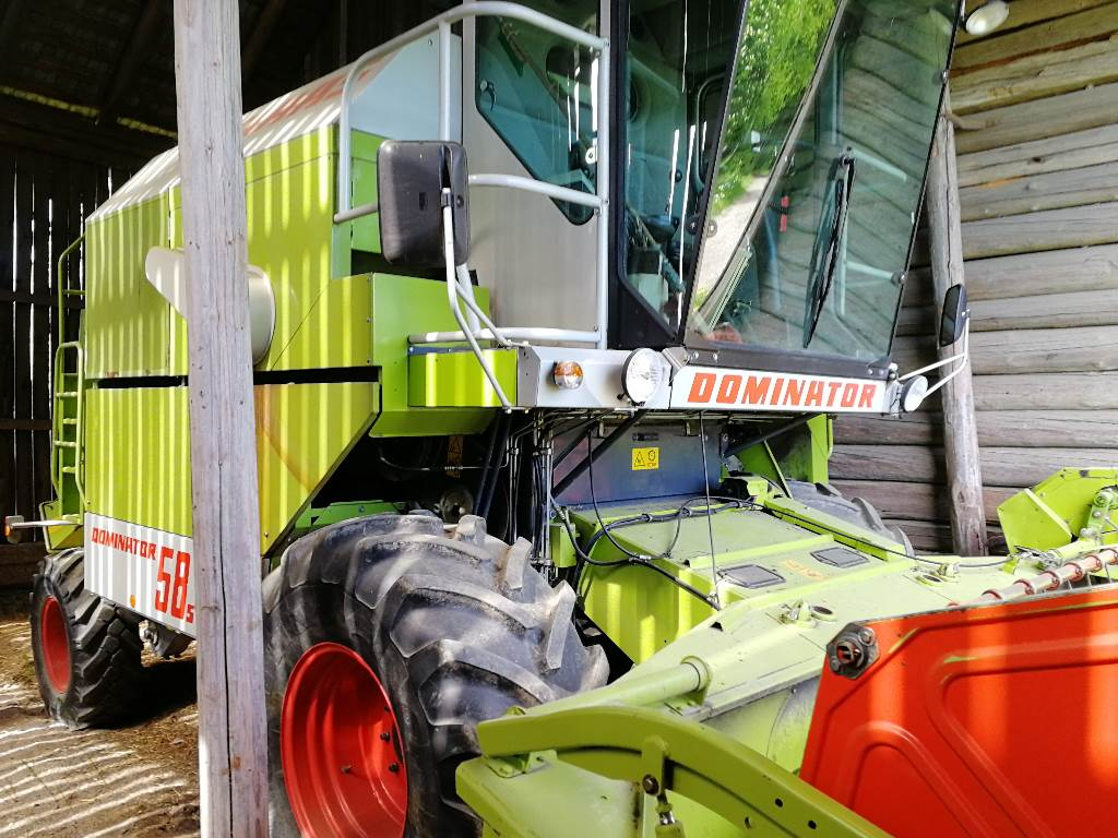 CLAAS Dominator 58 S, Combine harvesters, Agriculture