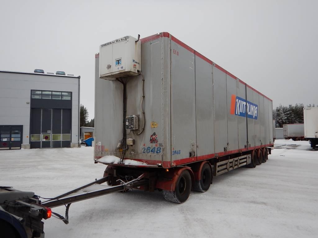 Närko Kylkiaukeava pv vm-05, WLC-891, Skåpsläp Kyl/fry/Värme, Transportfordon