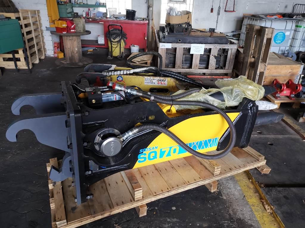 Soosan Hammer SQ70, Hammer / Brecher, Baumaschinen