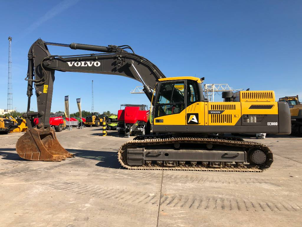 Volvo EC 380 D L (2pc), Crawler excavators, Construction