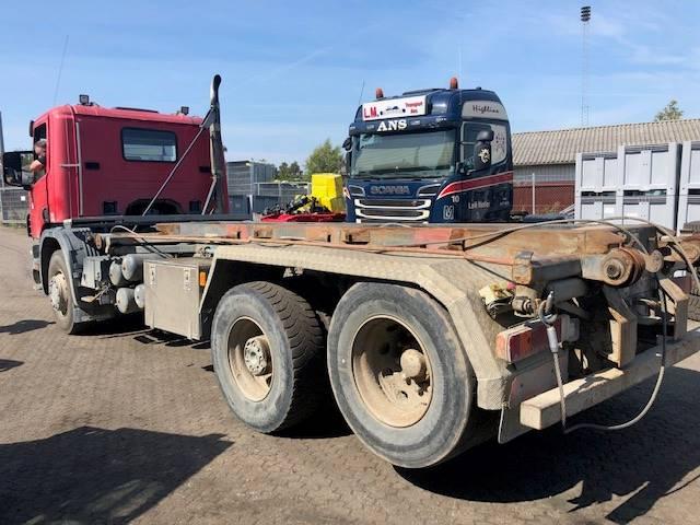 Scania 114 / 340 HK 6X2 NAVREDUKTION + SPRING/SPRING, Lastbiler med tip, Transport