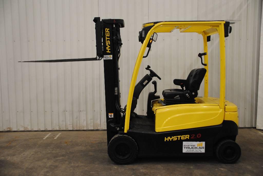 Hyster J2,0XN LWB, Elmotviktstruckar, Materialhantering