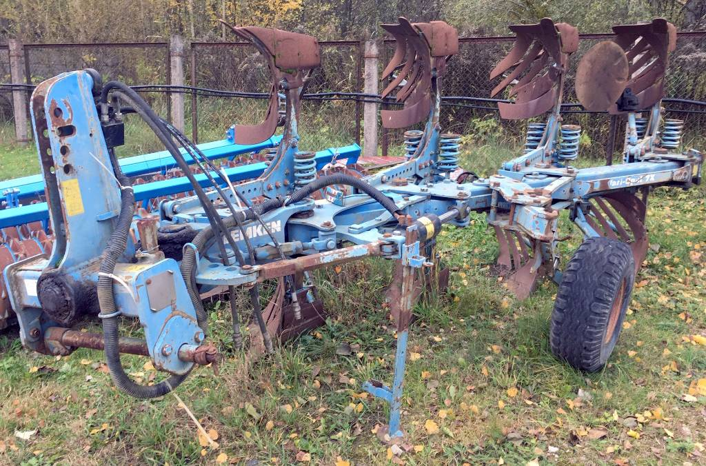 Lemken Vari-Opal 7 X, Paluuaurat, Maatalouskoneet