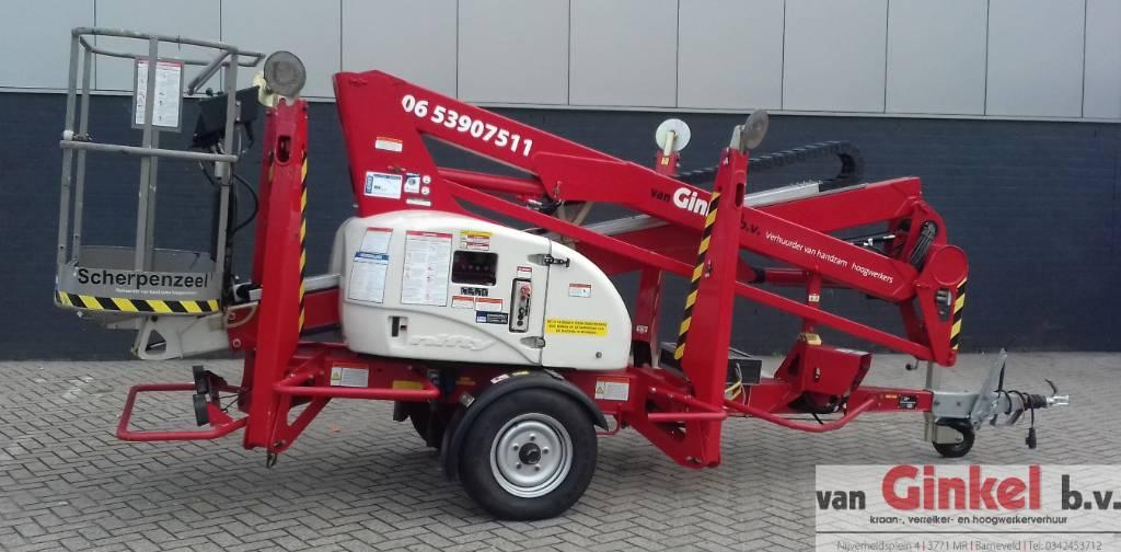 Niftylift 150 T, Aanhanger hoogwerkers, Bouw