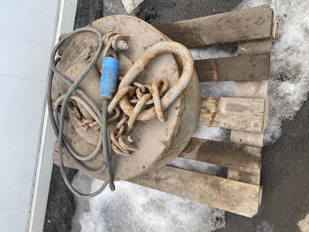 [Other] NEBB Magnet, Utstyr for avfall sortering, Anlegg