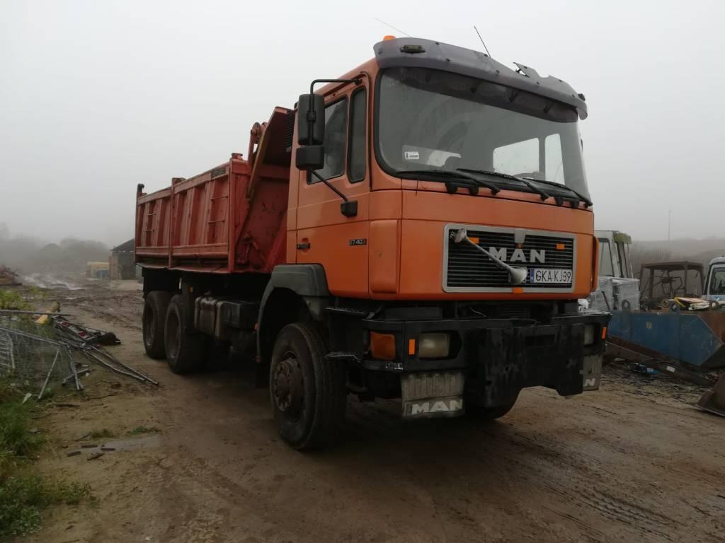 MAN 27.403 6x6, Wywrotki, Transport
