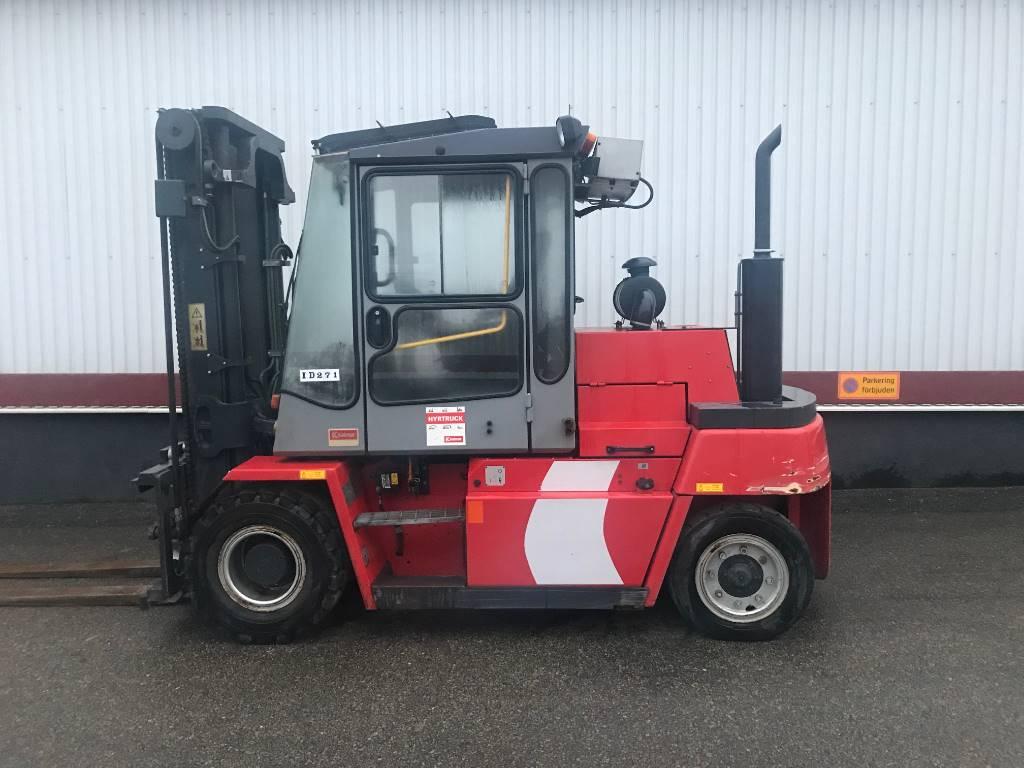 Kalmar DCD 70-6, Dieselmotviktstruckar, Materialhantering