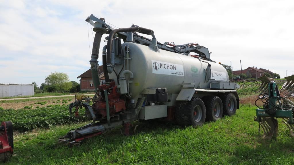 Pichon TCI 18.5, Cisterne za gnojnicu, Poljoprivreda