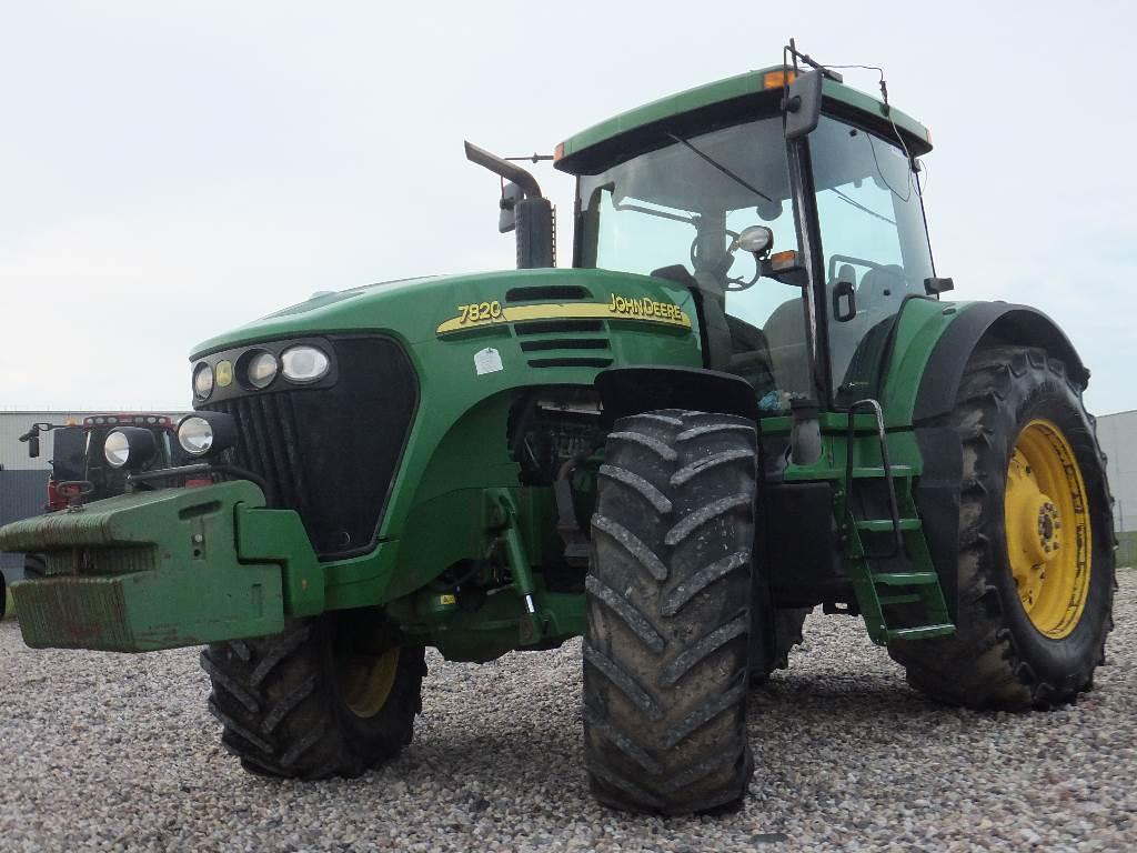John Deere 7820 AutoQuad, Traktoriai, Žemės ūkis