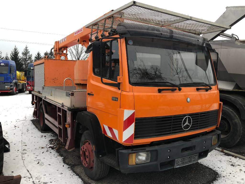Mercedes-Benz 1114 Wumag WT170, Auto košare, Građevinarstvo