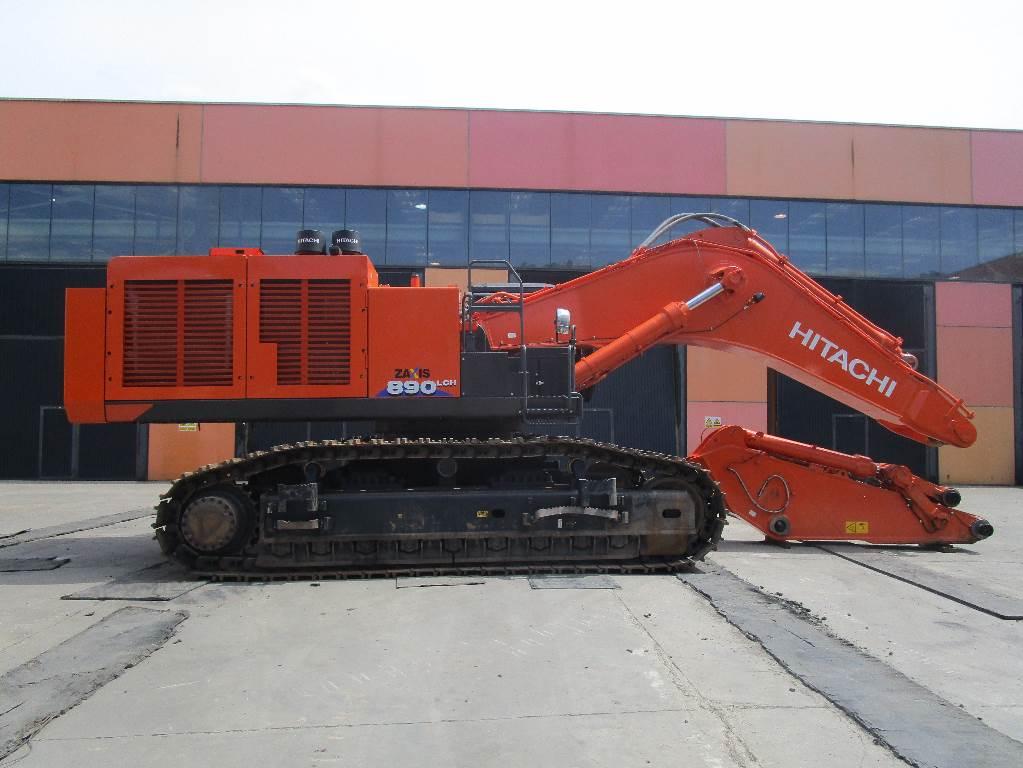 Hitachi ZX890LCH-6, Crawler Excavators, Construction Equipment