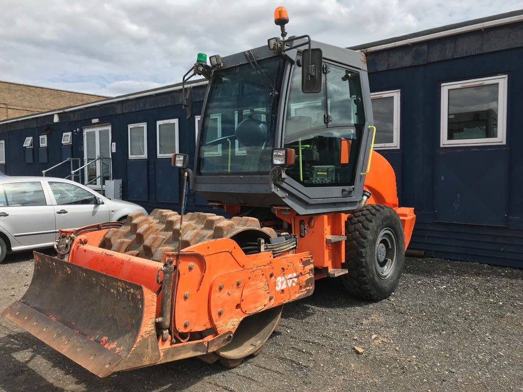 Hamm 3205, Soil compactors, Construction
