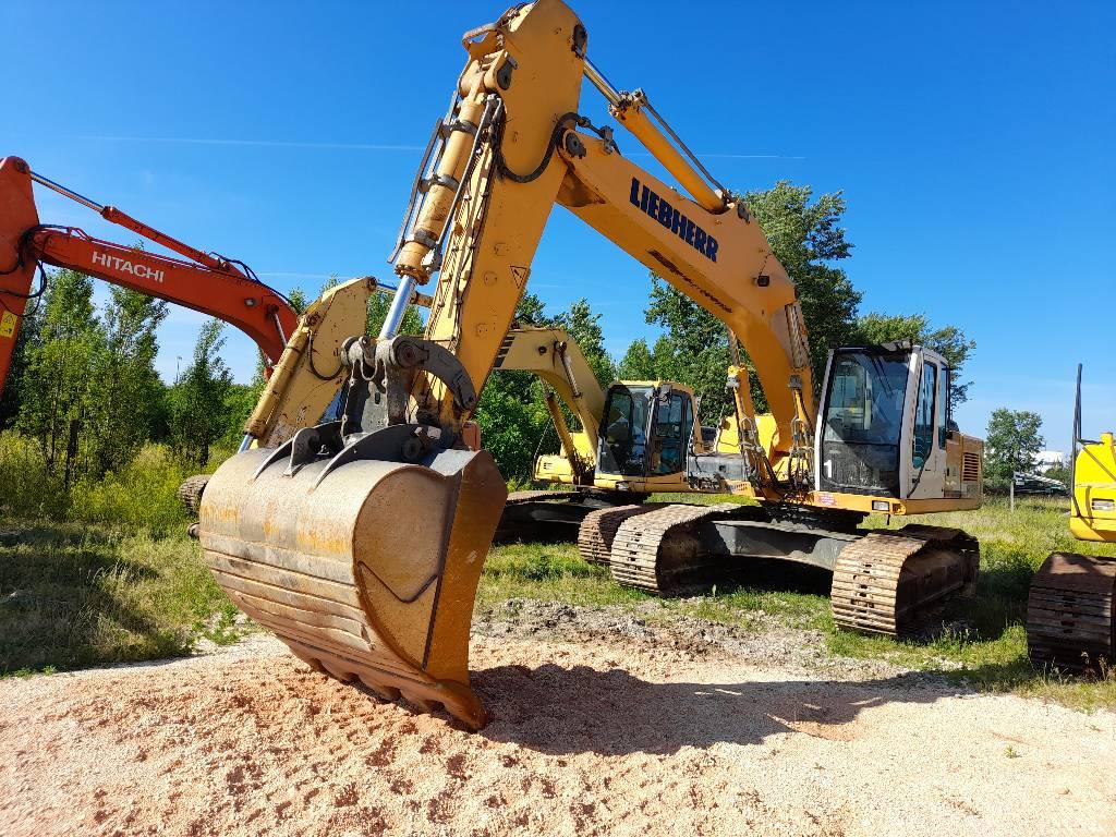 Liebherr 934, Crawler Excavators, Construction Equipment