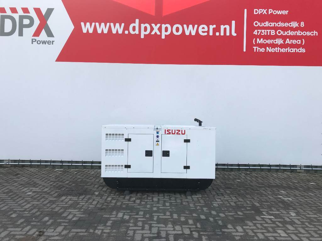 Isuzu 4JB1T - 35 kVA Generator - DPX-25011, Diesel generatoren, Bouw