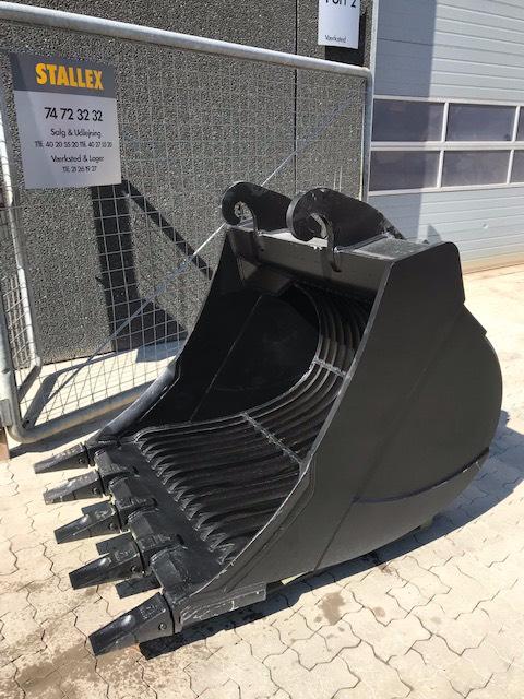[Other] RISTESKOVL/SKELLET BUCKET/SIEBLÖFFEL 1065 kg, Skovle, Entreprenør