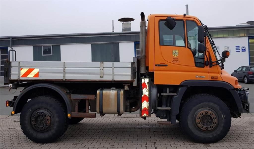 Mercedes-Benz Unimog U 400 Wechsellenkung, Kriechgang EHS,, Andere Fahrzeuge, LKW/Transport